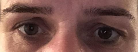 De ogen van een minnaress